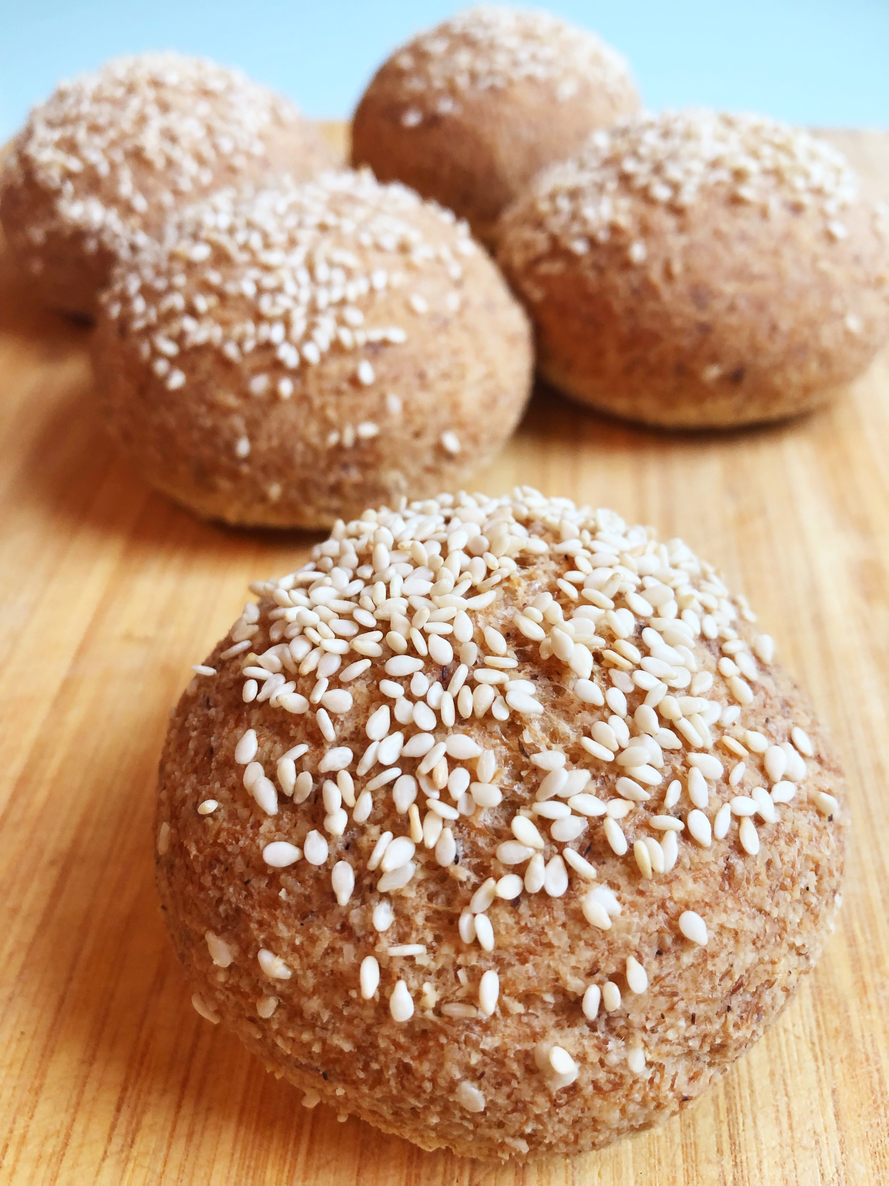 Saved by the buns: Quick and healthy (Gluten free, Vegan & Paleo) Buns